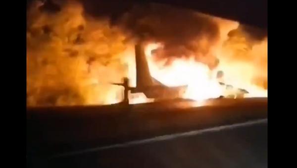 Un aereo An-26 militare si è schiantato in Ucraina - Sputnik Italia