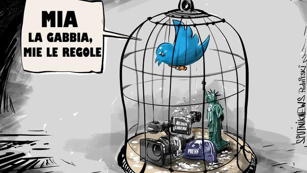 Il bavaglio di Twitter - Sputnik Italia