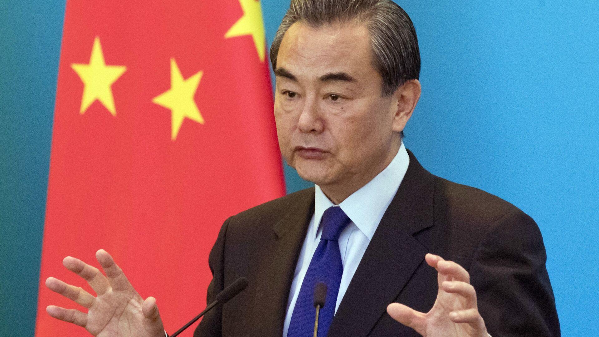 Il ministro degli Esteri cinese Wang Yi - Sputnik Italia, 1920, 23.09.2021