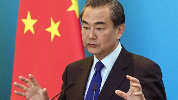 Il ministro degli Esteri cinese Wang Yi - Sputnik Italia