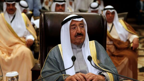 L'Emiro del Kuwait Sabah Al-Ahmad Al-Jaber Al-Sabah  - Sputnik Italia