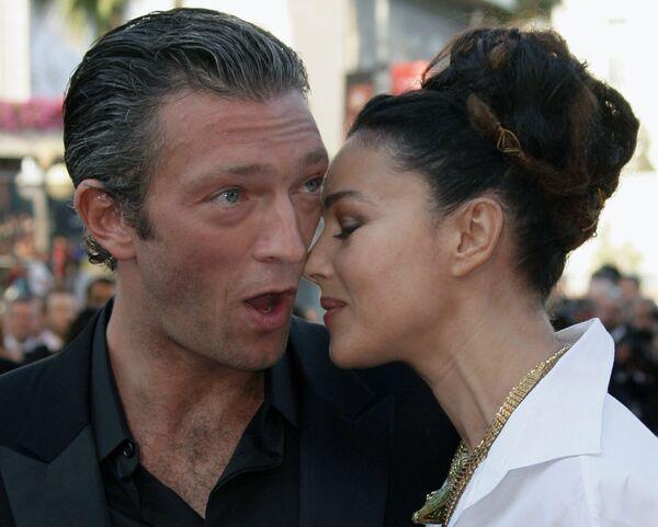 Attori Vincent Cassel e Monica Bellucci al Festival di Cannes - Sputnik Italia