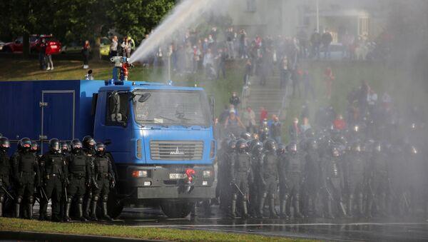 Proteste a Minsk, il 4 ottobre del 2020 - Sputnik Italia