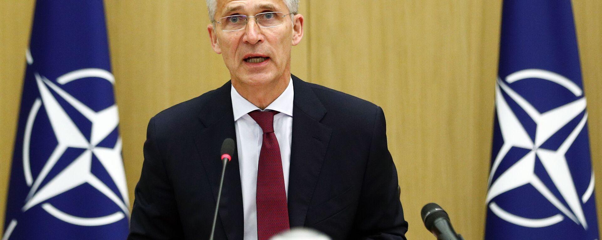 Il segretario generale della NATO Jens Stoltenberg - Sputnik Italia, 1920, 05.09.2021