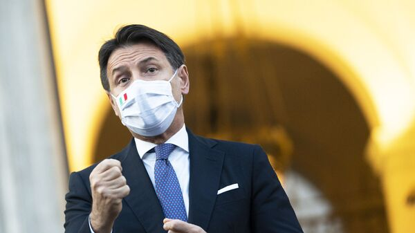 Presidente del Consiglio Giuseppe Conte - Sputnik Italia