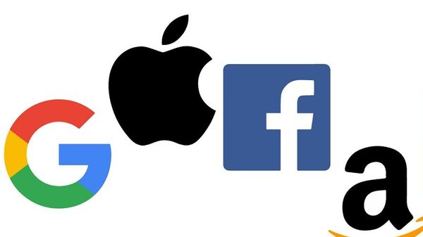 Google, Apple, Facebook, Amazon e Microsoft - Sputnik Italia