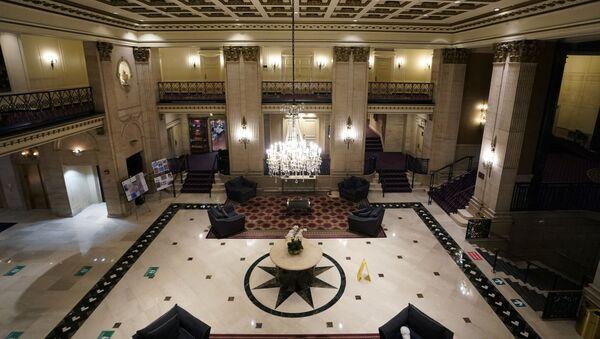 Lobby del hotel  Roosevelt, New York, USA - Sputnik Italia