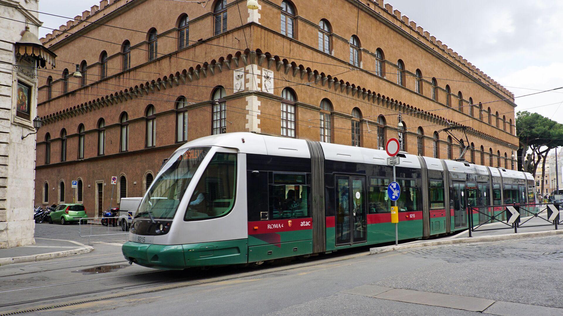 Tram a Roma - Sputnik Italia, 1920, 21.05.2021