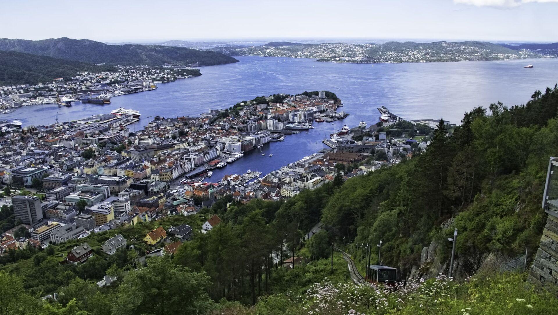 Bergen, Norvegia - Sputnik Italia, 1920, 22.04.2021