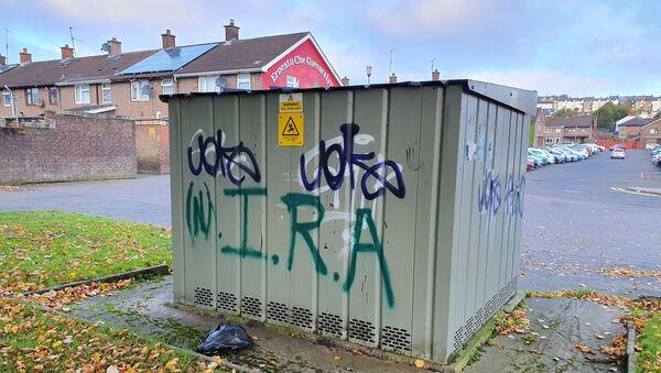 Graffiti a favore dell'organizzazione New IRA - Sputnik Italia