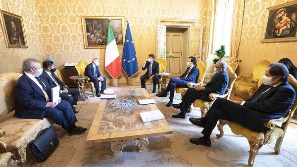 Conte riceve delegazione Fipe-Confcommercio - Sputnik Italia