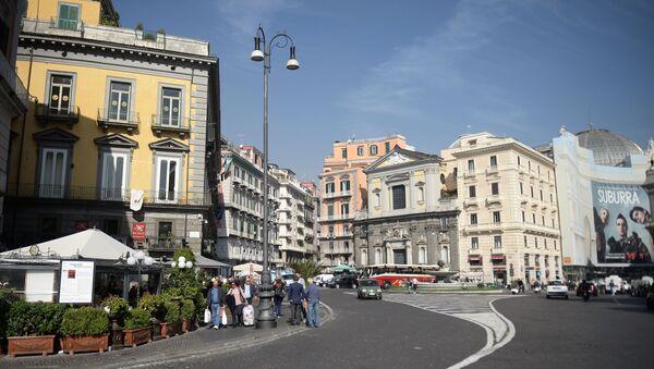 Napoli, la Piazza Trieste e Trento - Sputnik Italia