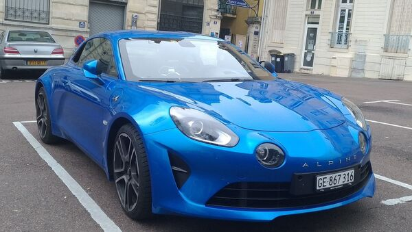 Auto Renault Alpine A110 - Sputnik Italia