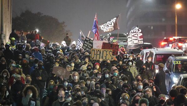 Elezioni USA. Proteste a Seattle - Sputnik Italia