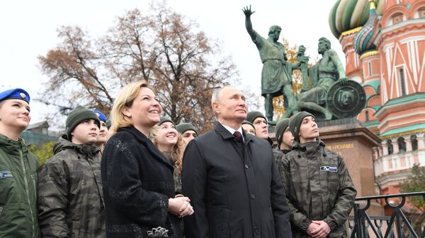 Vladimir Putin celebra la Giornata dell'Unità Nazionale - Sputnik Italia