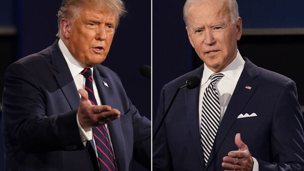Scontro tra Joe Biden e Donald Trump - Sputnik Italia