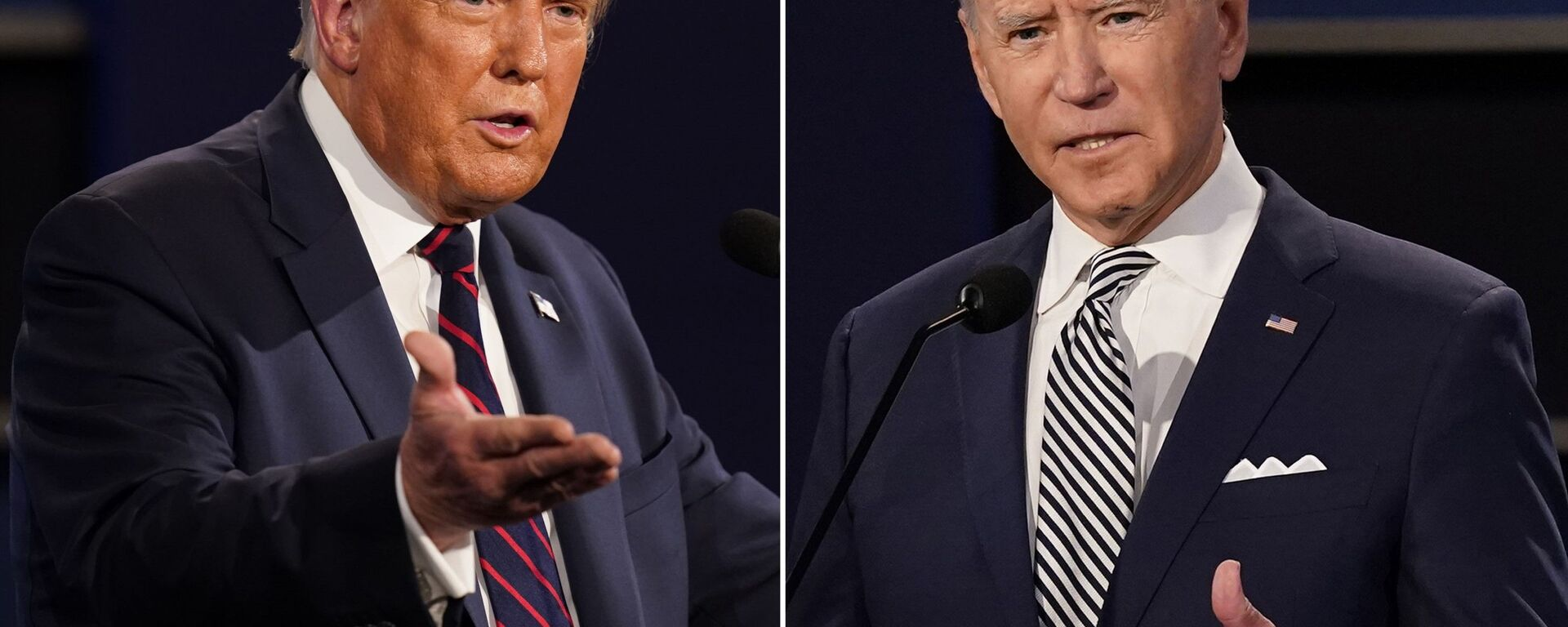 Scontro tra Joe Biden e Donald Trump - Sputnik Italia, 1920, 23.08.2021