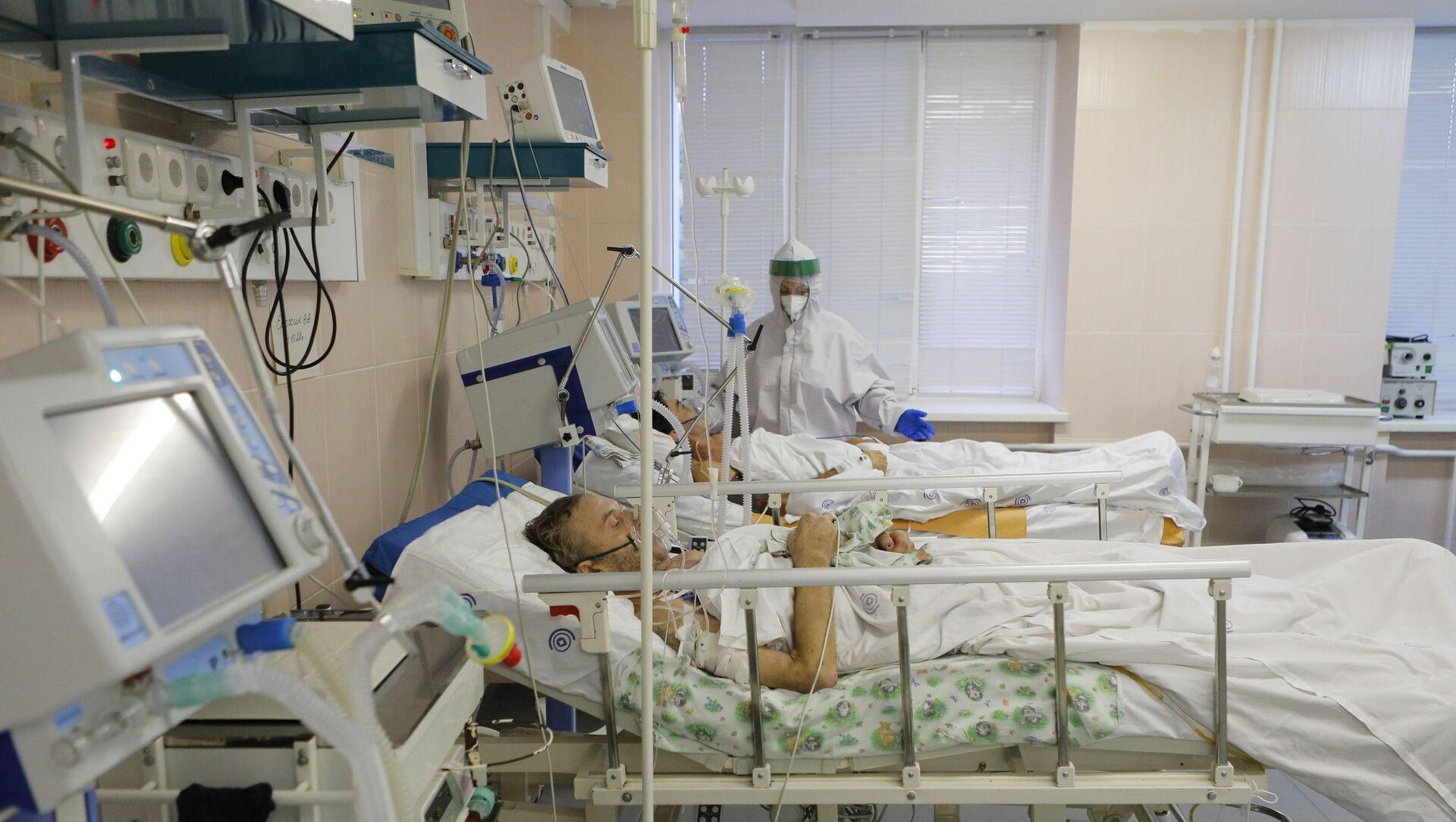 Malati di Covid-19 in un ospedale russo (foto d'archivio) - Sputnik Italia, 1920, 25.02.2021