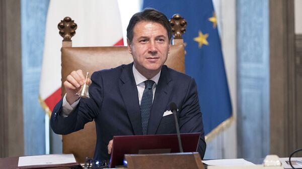 Il Presidente del Consiglio Giuseppe Conte - Sputnik Italia