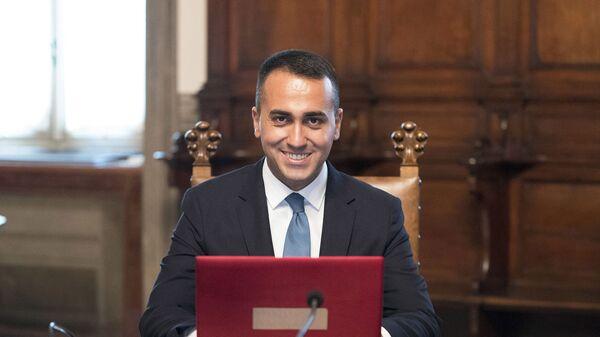 Il Ministro degli Affari Esteri e della Cooperazione Internazionale, Luigi Di Maio - Sputnik Italia