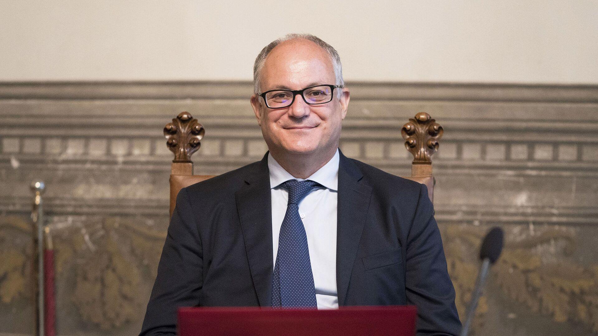 Il Ministro dell'Economia e delle Finanze, Roberto Gualtieri - Sputnik Italia, 1920, 16.05.2021