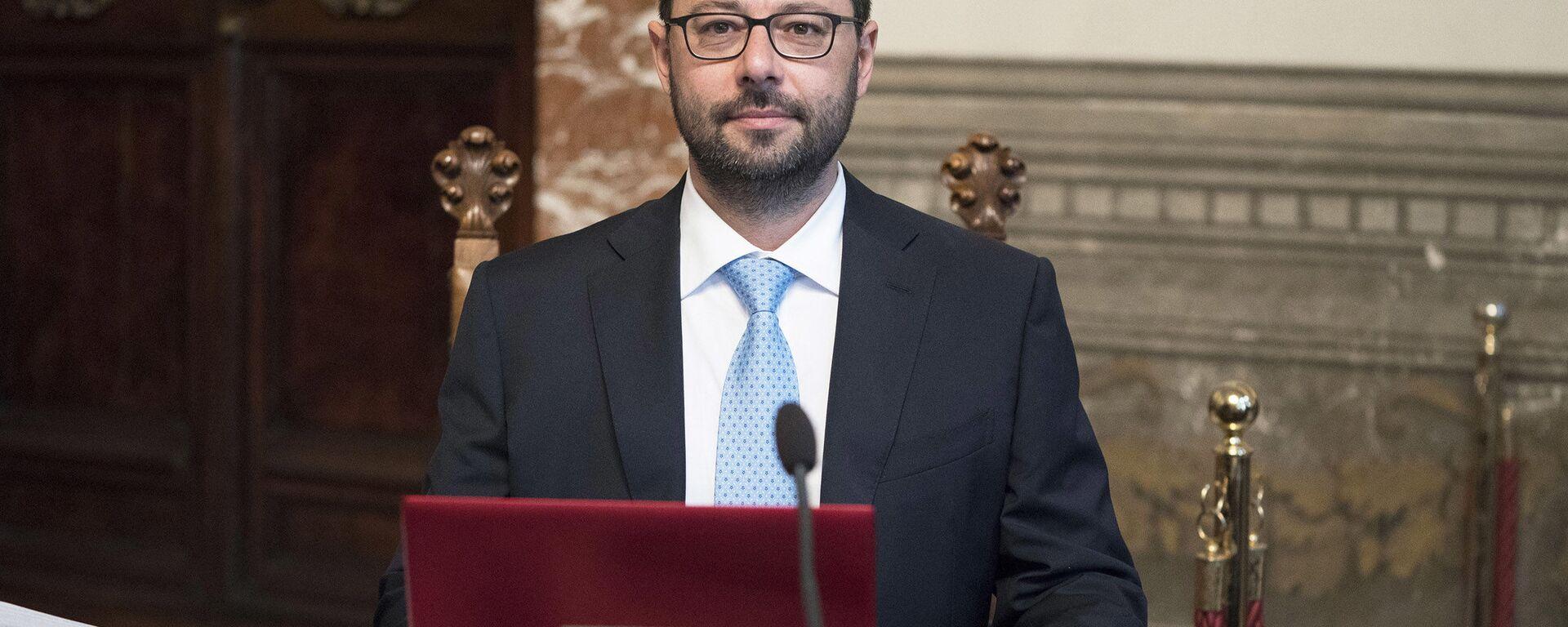 Il Ministro dello Sviluppo Economico, Stefano Patuanelli - Sputnik Italia, 1920, 15.09.2021
