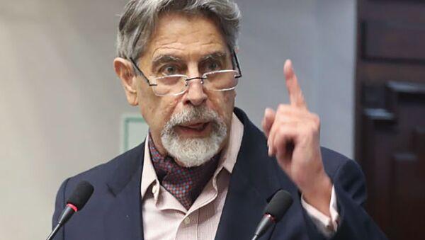 Francisco Sagasti, presidente del Perú - Sputnik Italia