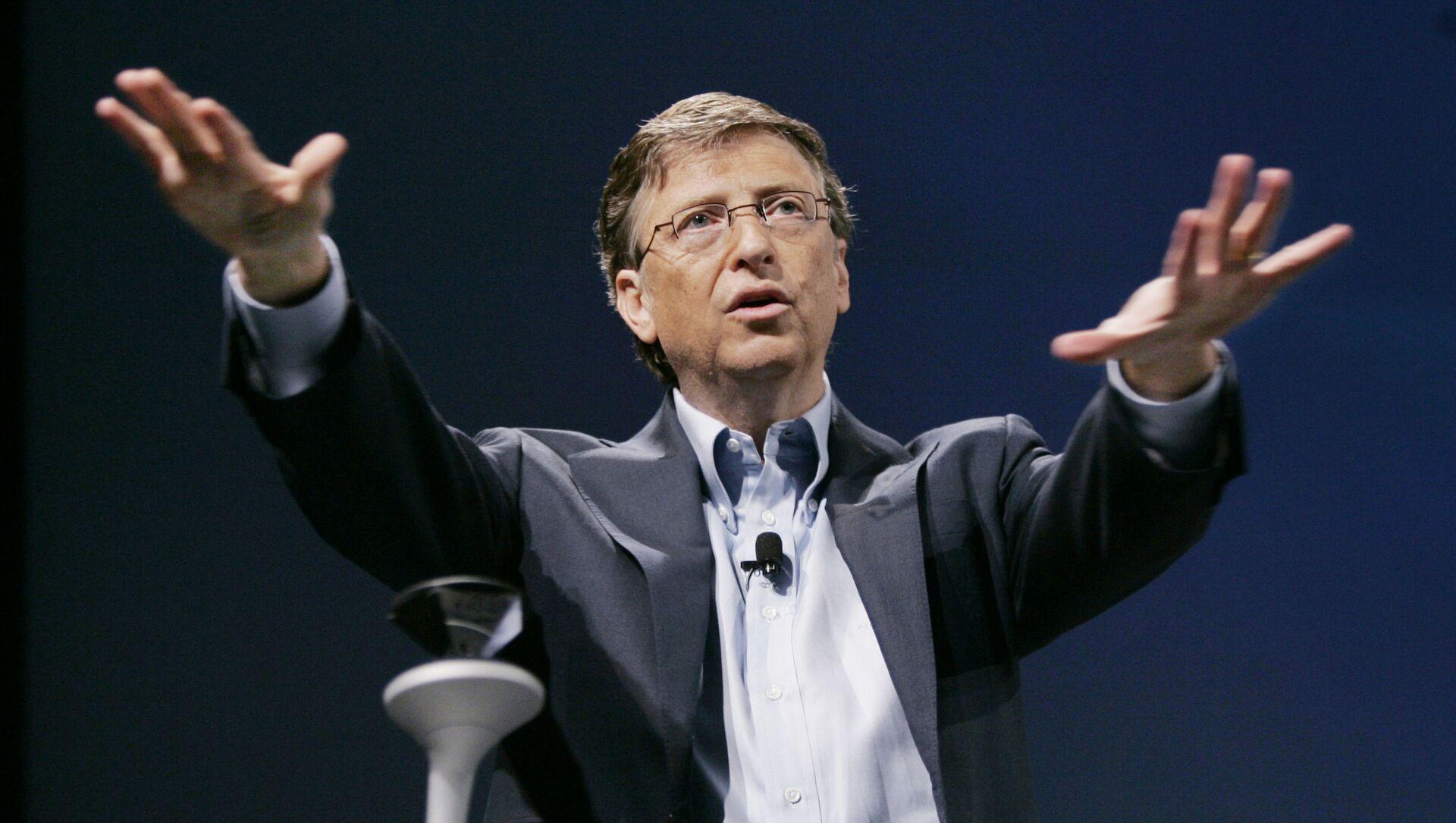 Bill Gates, fundador de Microsoft - Sputnik Italia, 1920, 16.02.2021