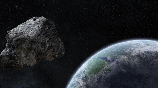 Terra sfiorata a distanza minima da record da un pericoloso asteroide - Sputnik Italia