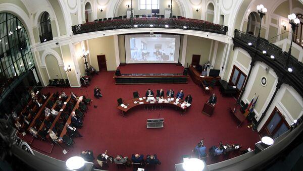 Riunione alla Camera di Commercio della Federazione Russa - Sputnik Italia