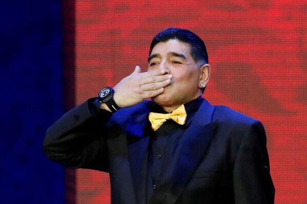La leggenda del calcio Diego Maradona al Cremlino, 2017 - Sputnik Italia