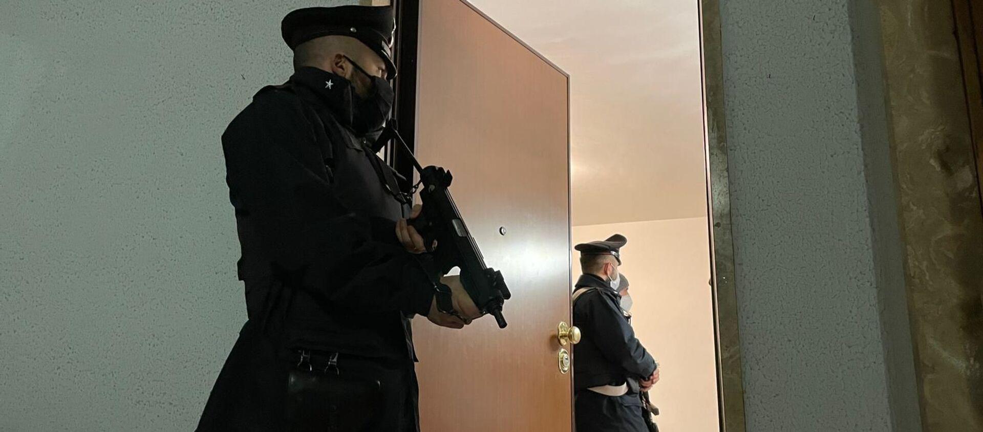Operazione dei Carabinieri contro il cartello della droga della Camorra a Roma - Sputnik Italia, 1920, 22.01.2021