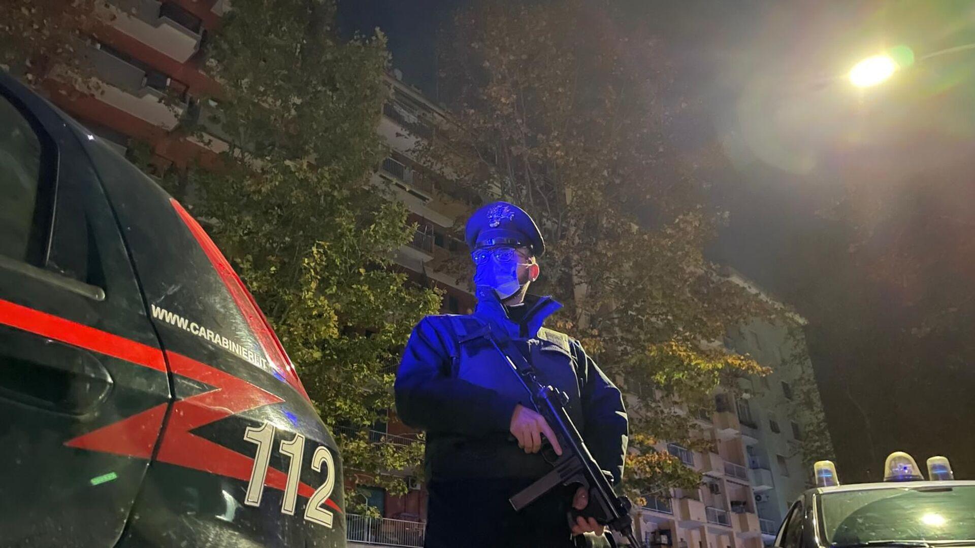 Operazione dei Carabinieri contro il cartello della droga della Camorra a Roma - Sputnik Italia, 1920, 05.02.2021