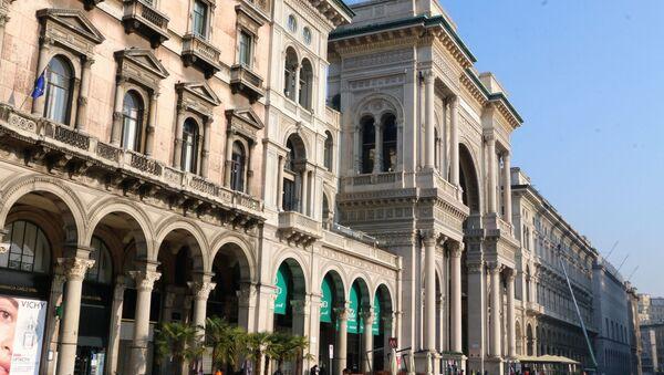 Galleria Vittorio Emanuele II a Milano  - Sputnik Italia