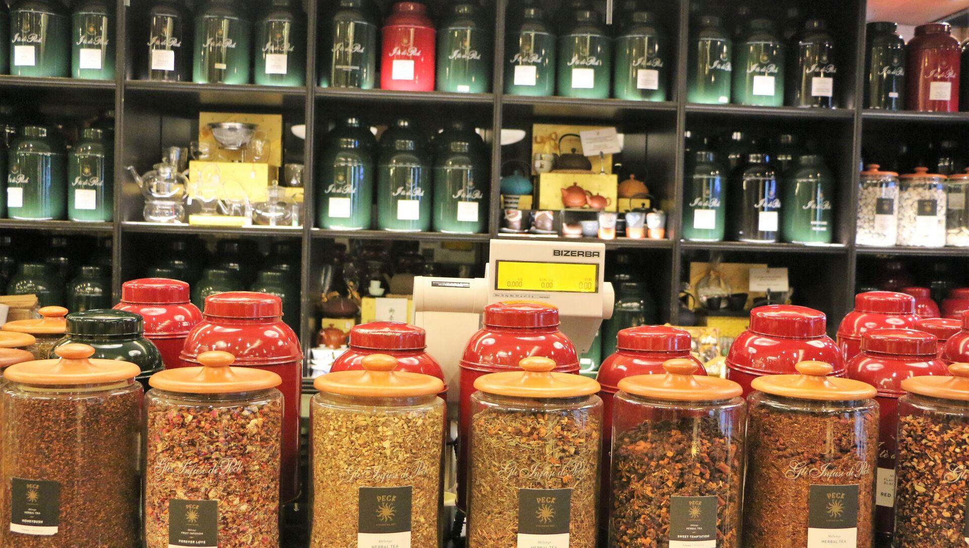 Un negozio di tè - Sputnik Italia, 1920, 28.04.2021