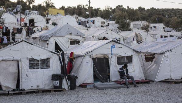 Campo rifugiati Moria, Grecia - Sputnik Italia