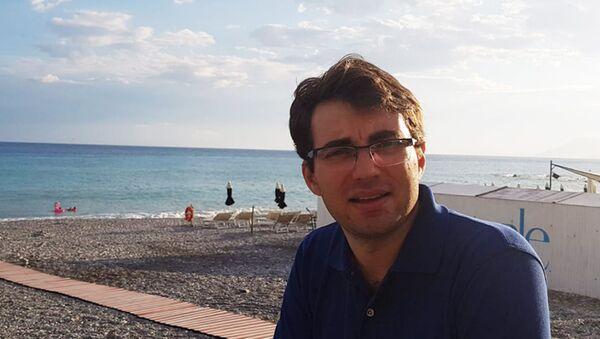 Ricercatore italiano Lorenzo Bianchini dell'Infn  - Sputnik Italia