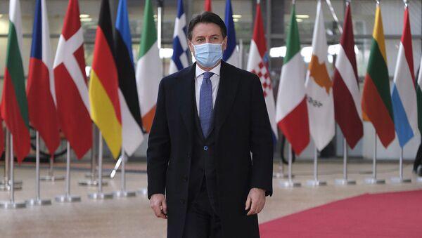 Il premier Conte al Consiglio Europeo - Sputnik Italia