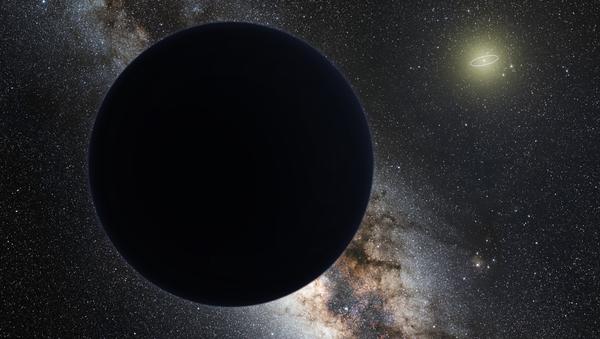 Художественное изображение девятой планеты Солнечной системы - Sputnik Italia