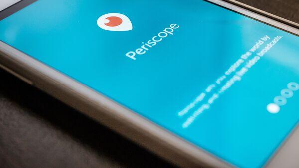 App Periscope - Sputnik Italia