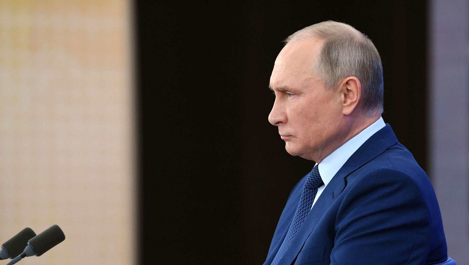 La Conferenza stampa di fine anno di Vladimir Putin 2020 - Sputnik Italia, 1920, 25.02.2021