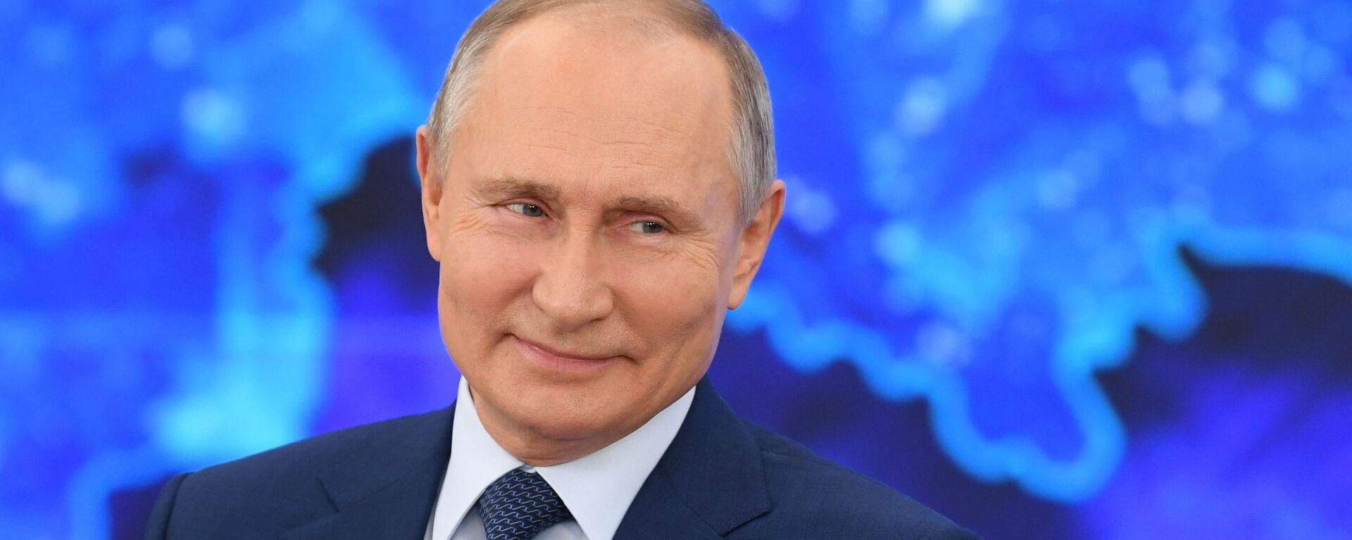 La Conferenza stampa di fine anno di Vladimir Putin 2020 - Sputnik Italia, 1920, 22.02.2021