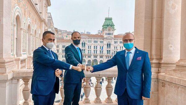 Vertice di Trieste tra Italia, Croazia e Slovenia sulle Zee dell'Adriatico - Sputnik Italia