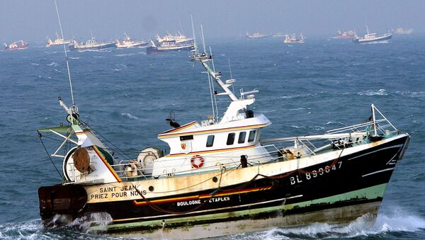 French fishing boats (File) - Sputnik Italia