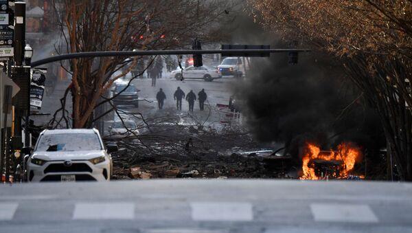 Esplosione la mattina di Natale a Nashville, Tennessee, U.S. - Sputnik Italia