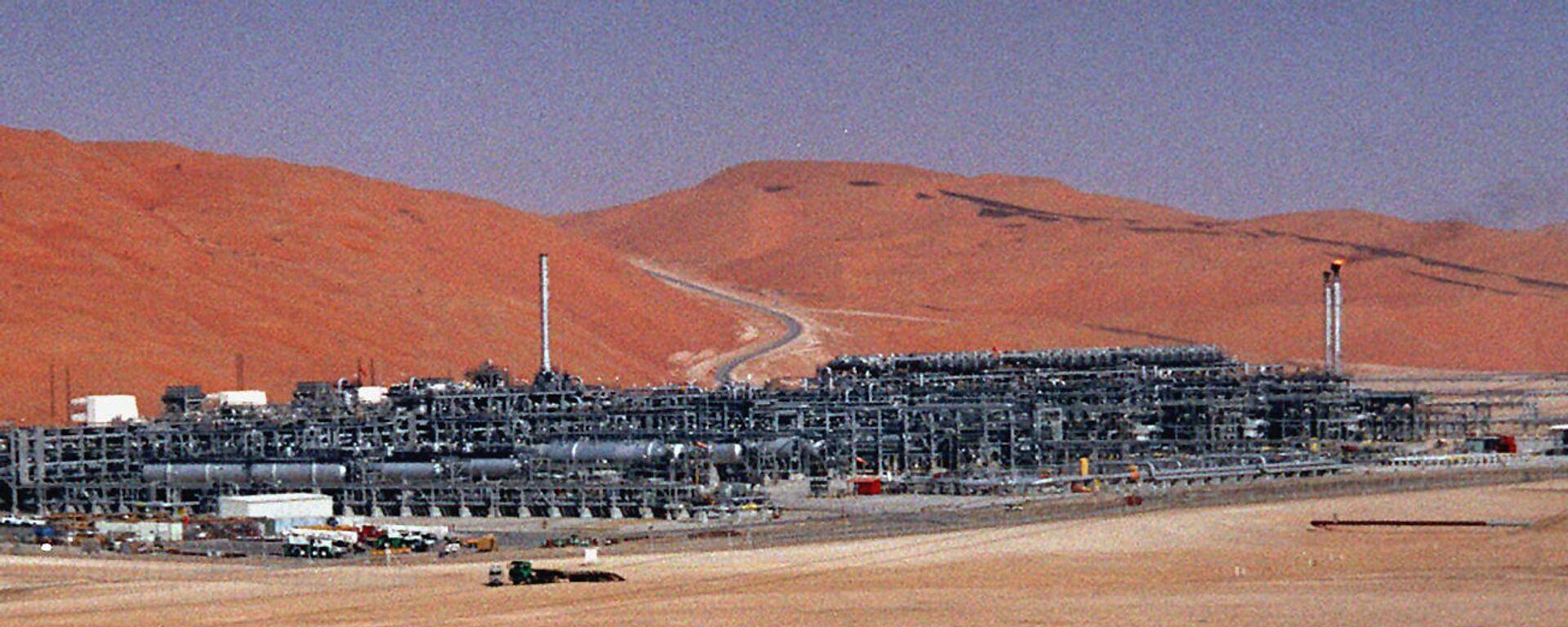 Impianto produzione gas Saudi Aramco - Sputnik Italia, 1920, 27.12.2020