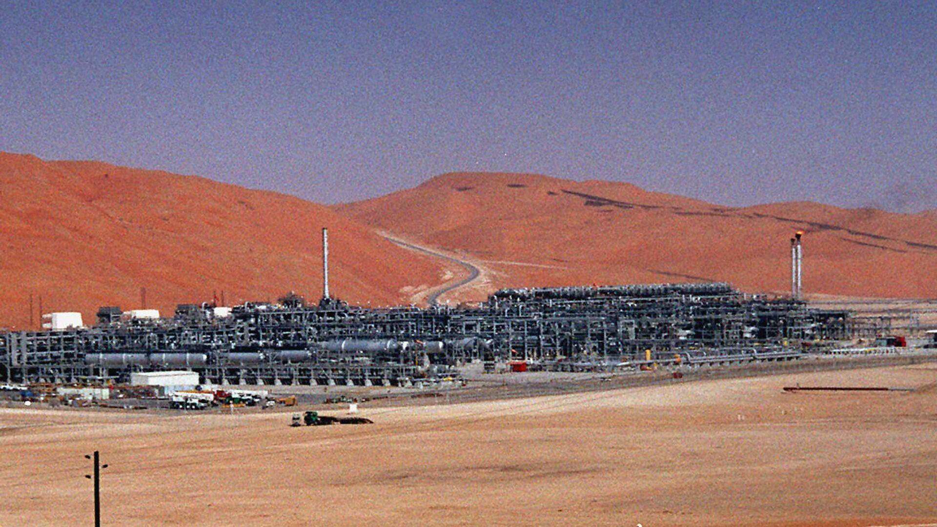 Impianto produzione gas Saudi Aramco - Sputnik Italia, 1920, 15.04.2021