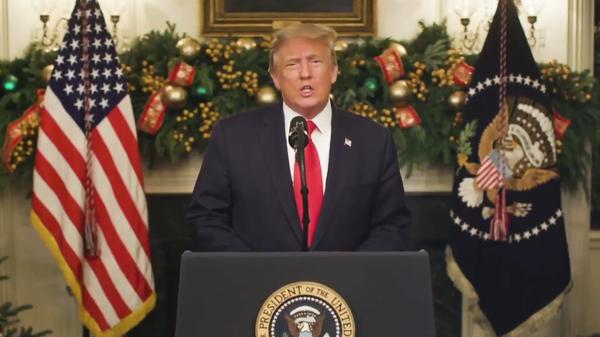 Trump discorso fine anno - Sputnik Italia