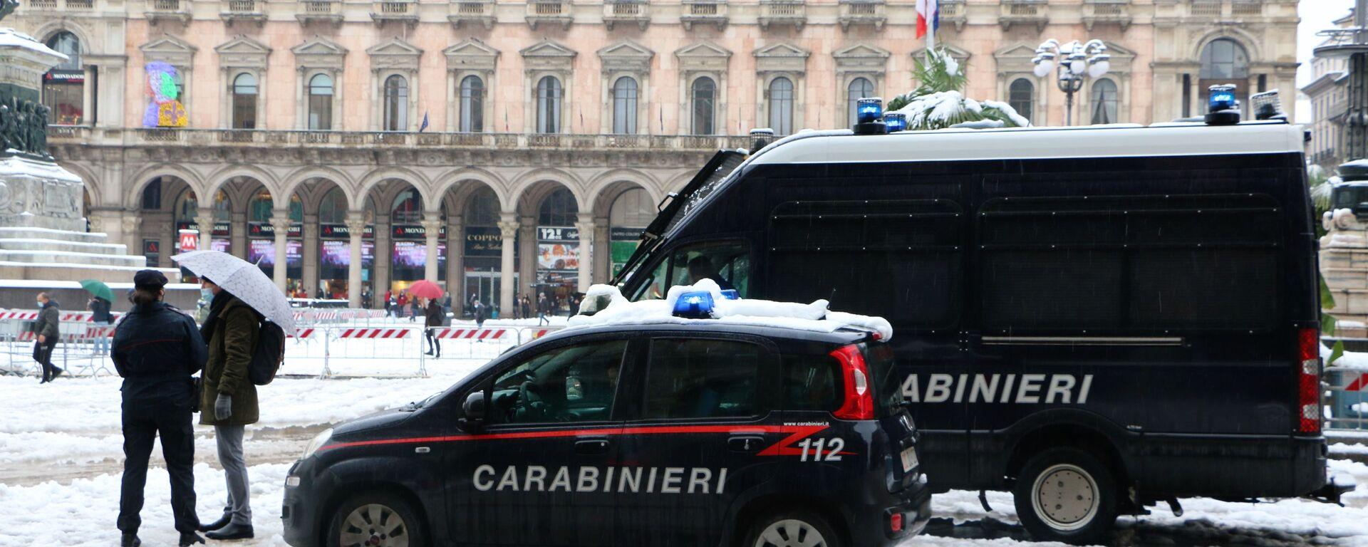 Carabinieri a Milano - Sputnik Italia, 1920, 13.07.2021
