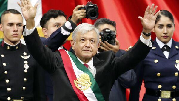 Andrés Manuel López Obrador  - Sputnik Italia
